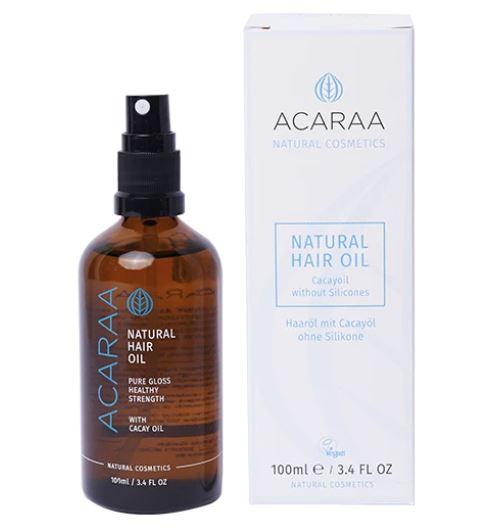 Haaröl mit Argan-, Cacayöl und Vitaminen