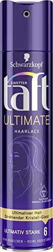 Schwarzkopf 3 Wetter Taft Haarlack, Ultimate Ultimativ Starker Halt 6, 5er Pack (5 x 250 ml)