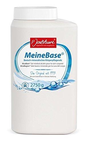 P. Jentschura Meine Base 2750g, basisch-mineralisches Badesalz